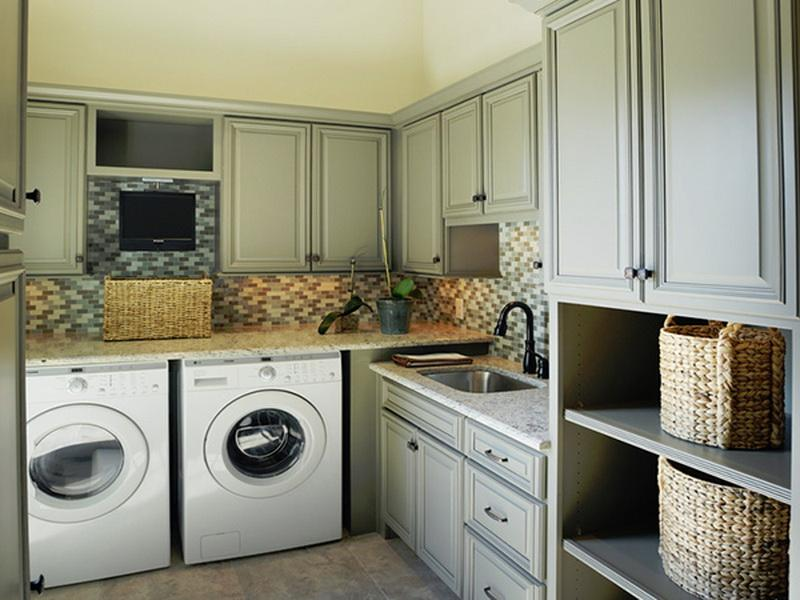Image of: laundry room home decor