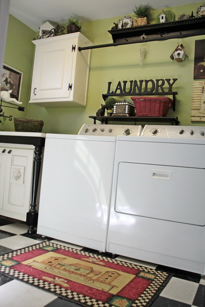 Image of: laundry room ideas diy