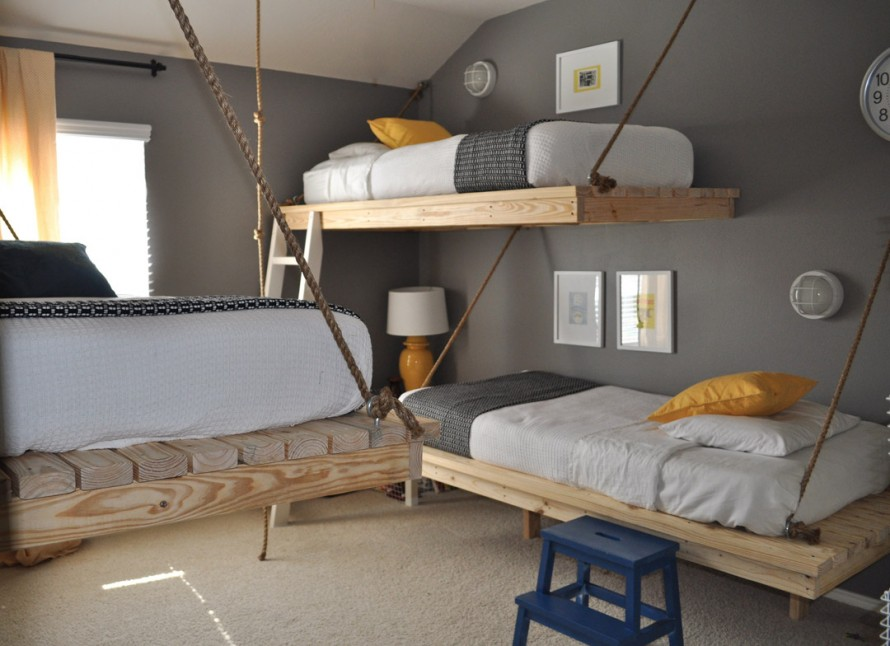 Image of: loft design bedroom ideas
