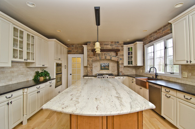 Image of: mediterranean kitchen countertops