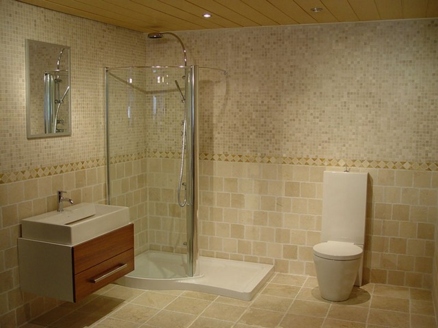 Image of: mosaic tile and design