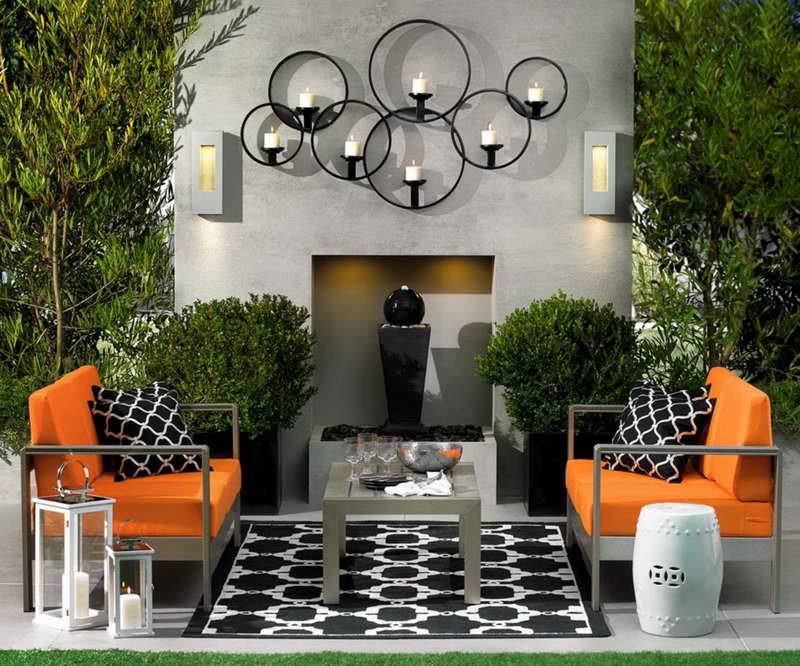 Image of: outdoor porch decorating ideas