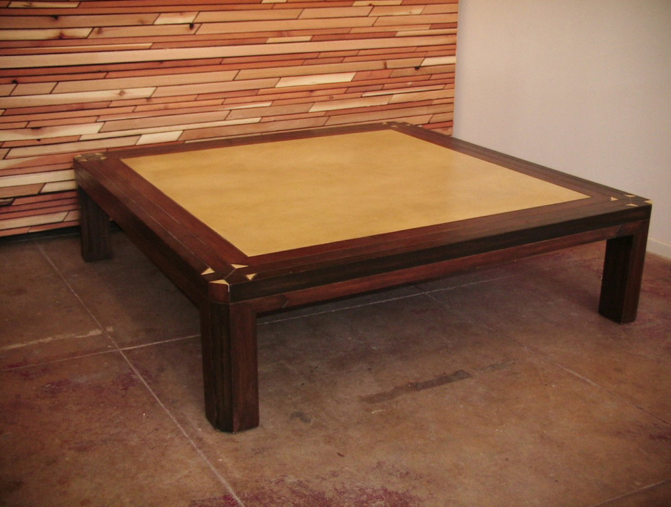 Image of: oversized coffee table