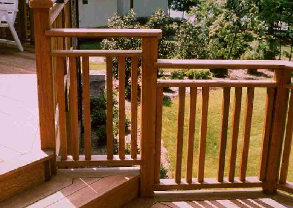 Image of: porch rails designs