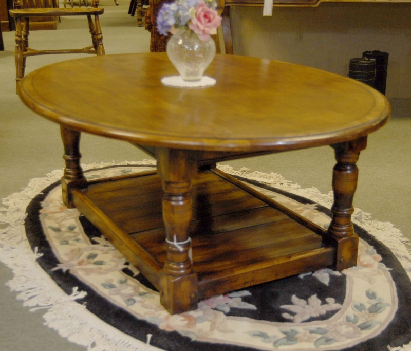 Image of: refectory coffee table