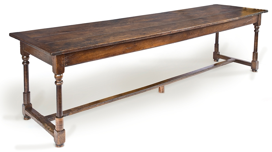 Image of: refectory table definition