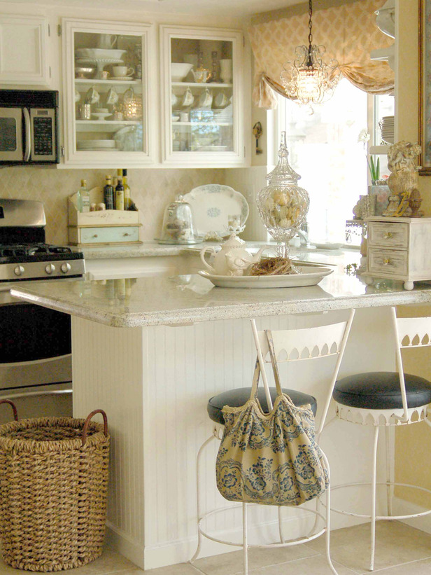 Image of: small kitchen ideas for decorating