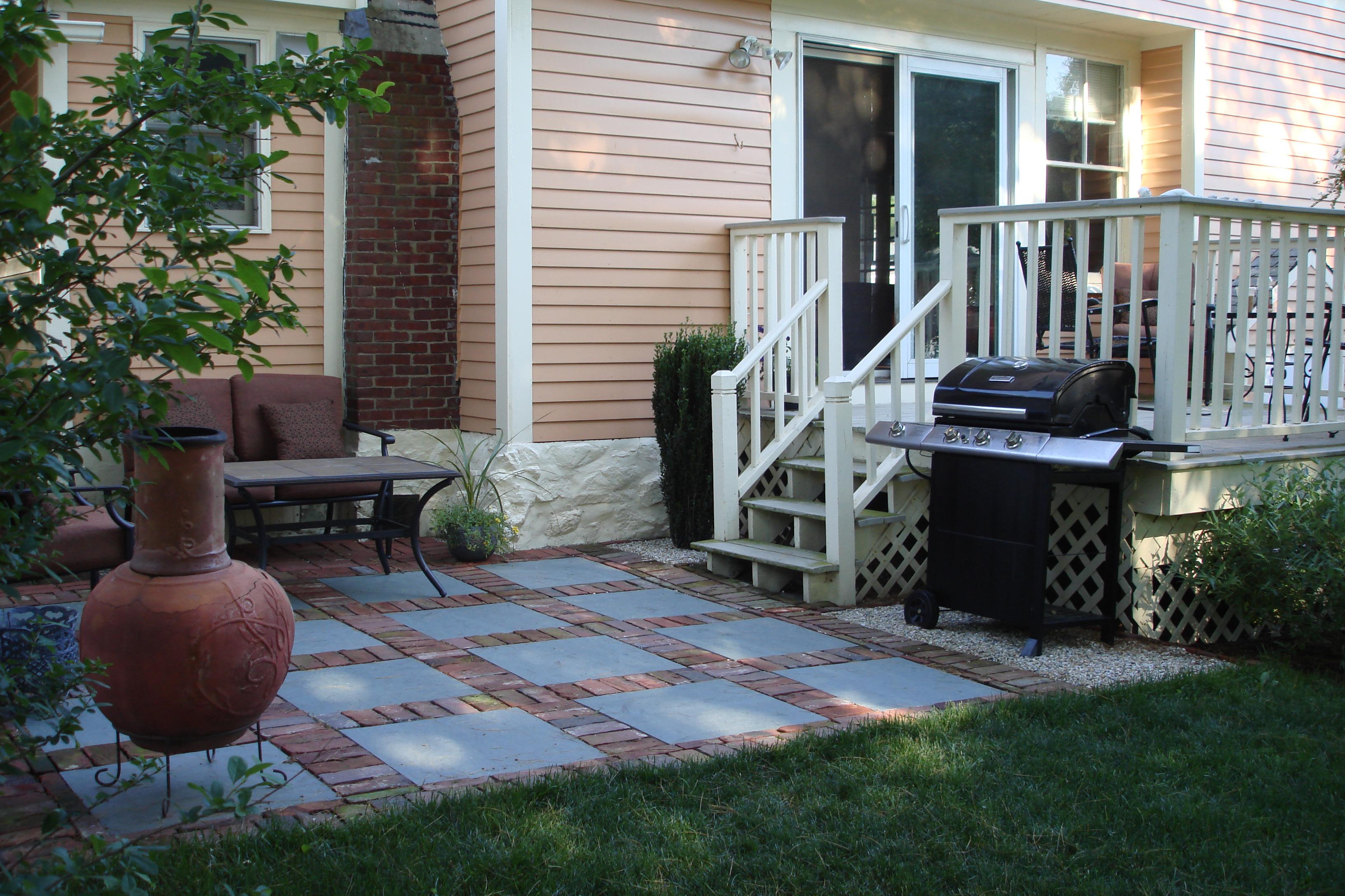 small patio area designs