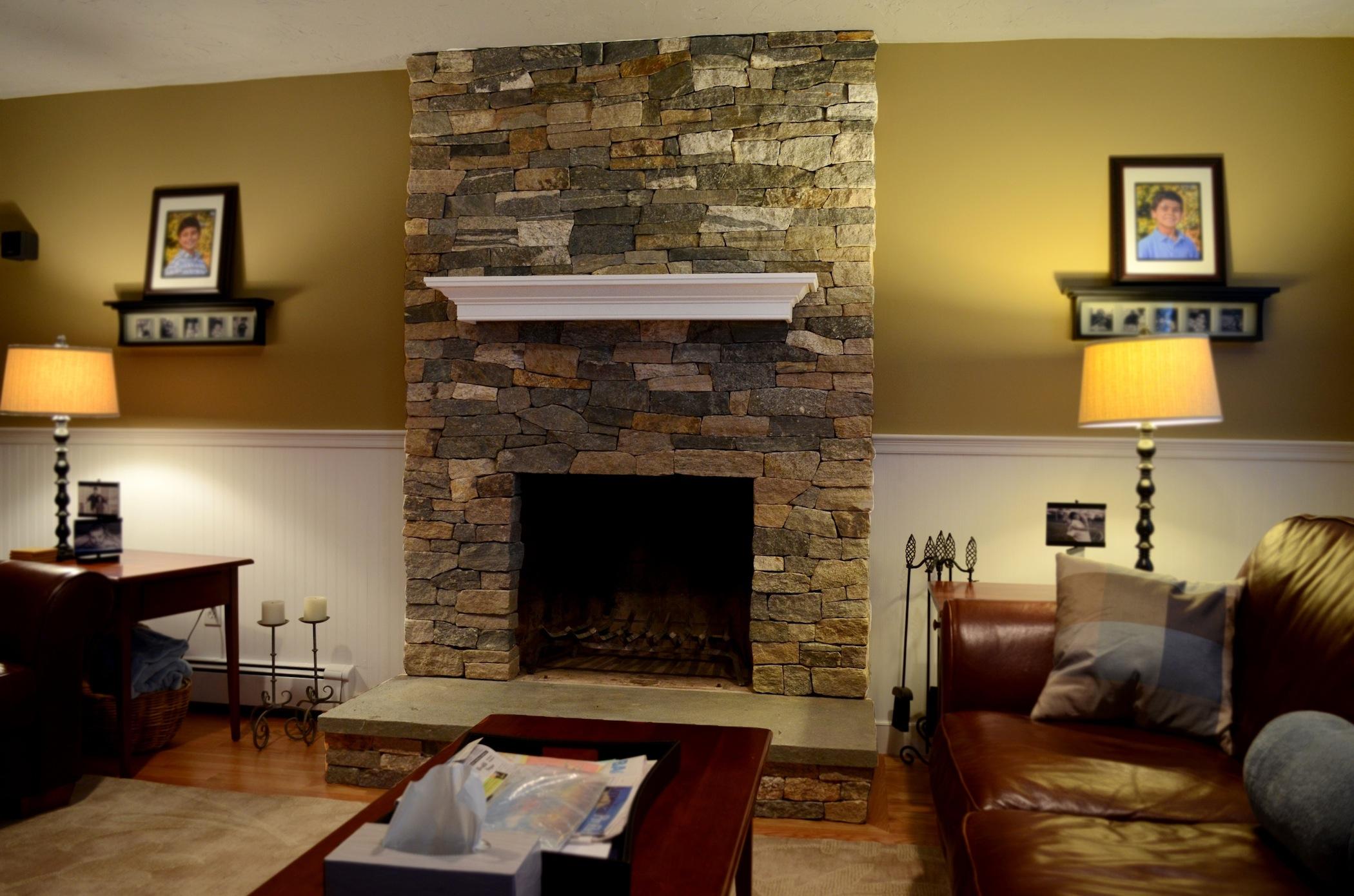 stone fireplaces designs ideas