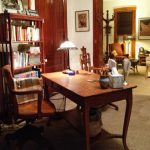 value of an antique library table