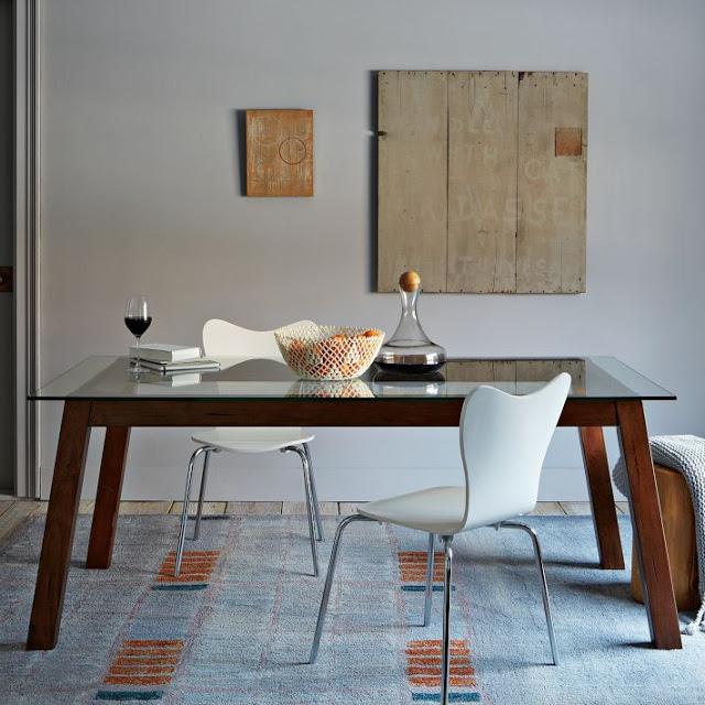 Image of: west elm coffee table rustic