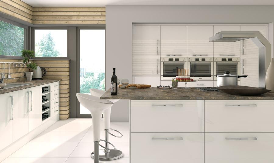 white kitchen camden