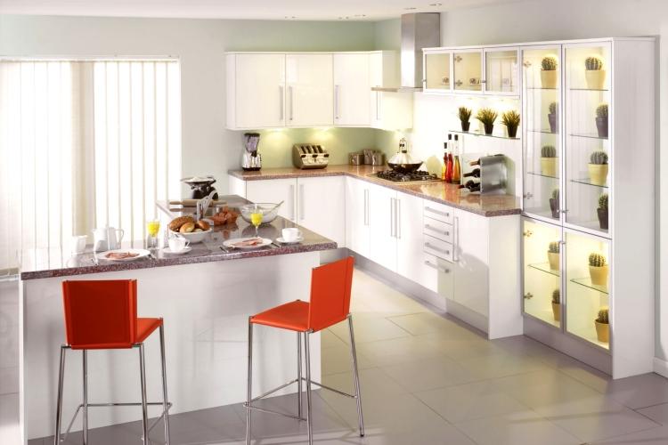 white kitchens diy