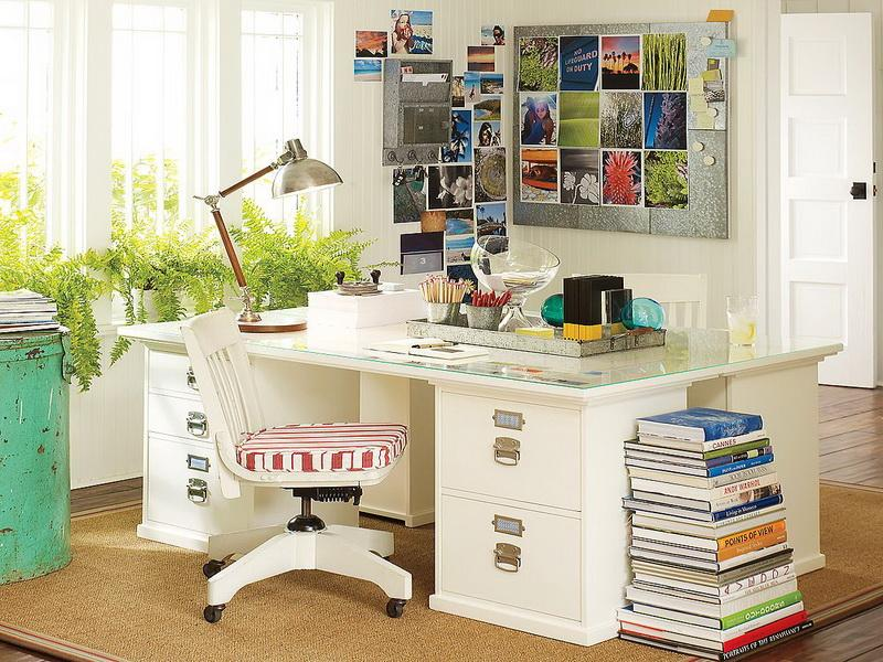 Image of: work desk organization ideas