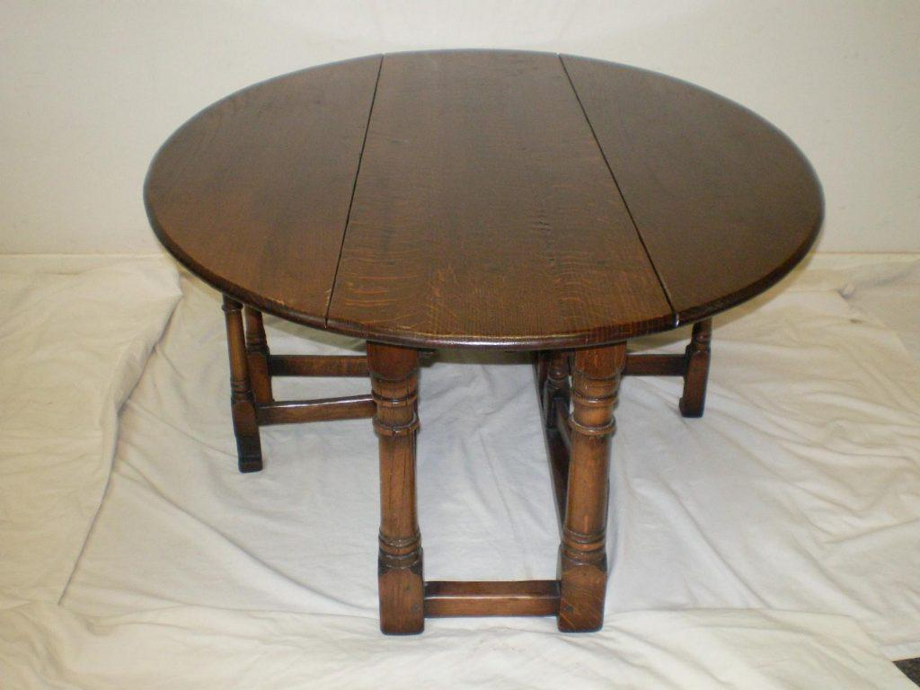 Image of: Gateleg Table Antique