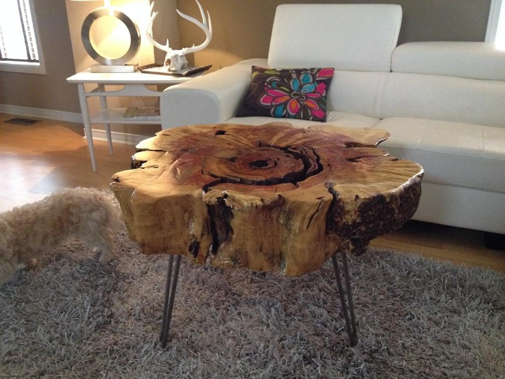 Image of: Granite Coffee Table Diy