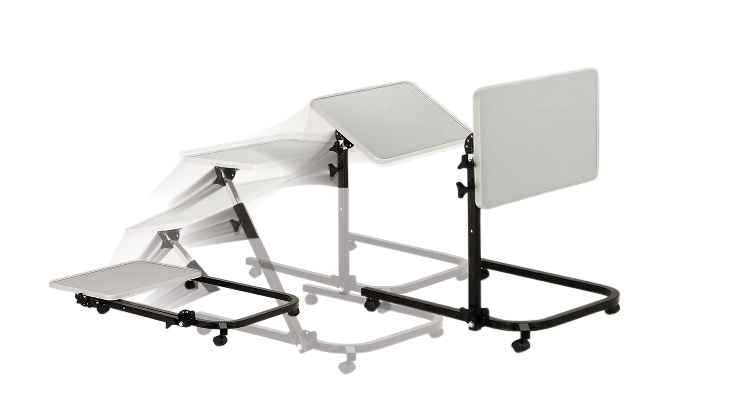 Image of: adjustable overbed table