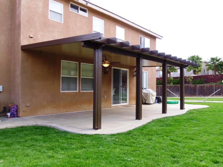 Image of: alumawood patio cover designs