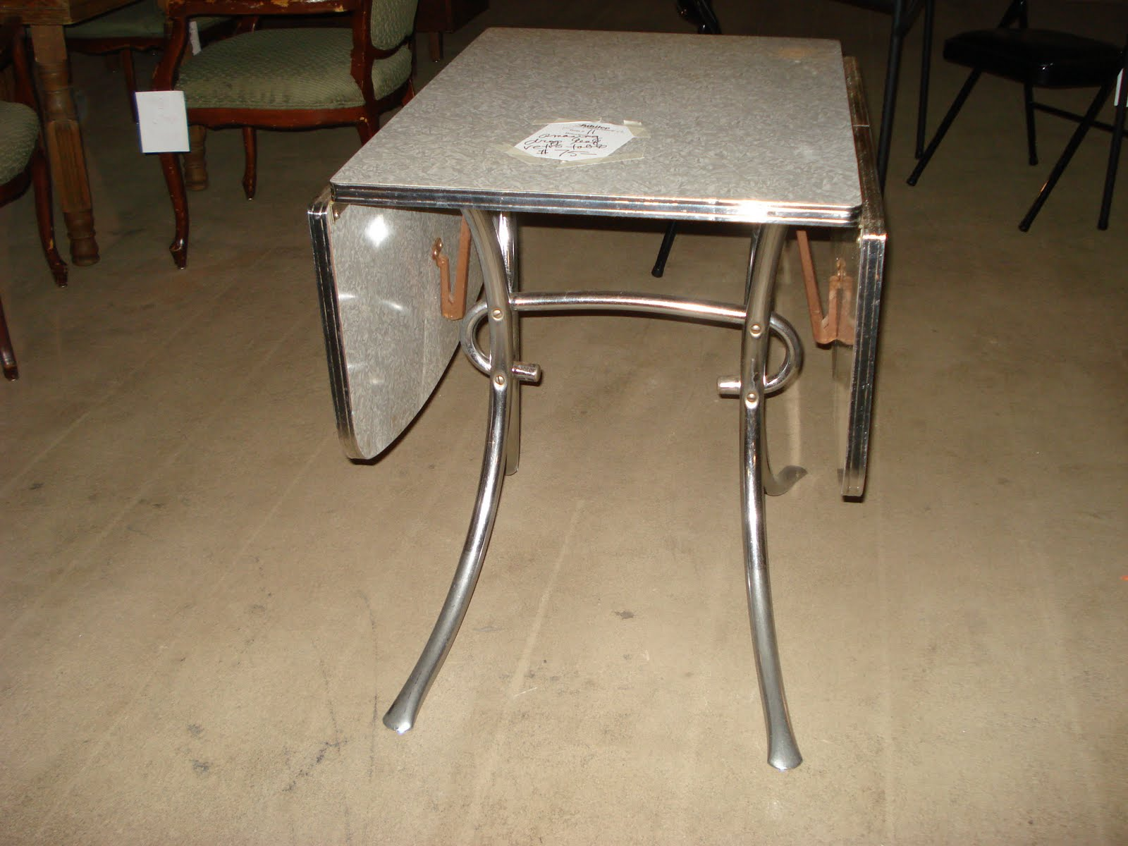 Image of: antique duncan phyfe drop leaf table