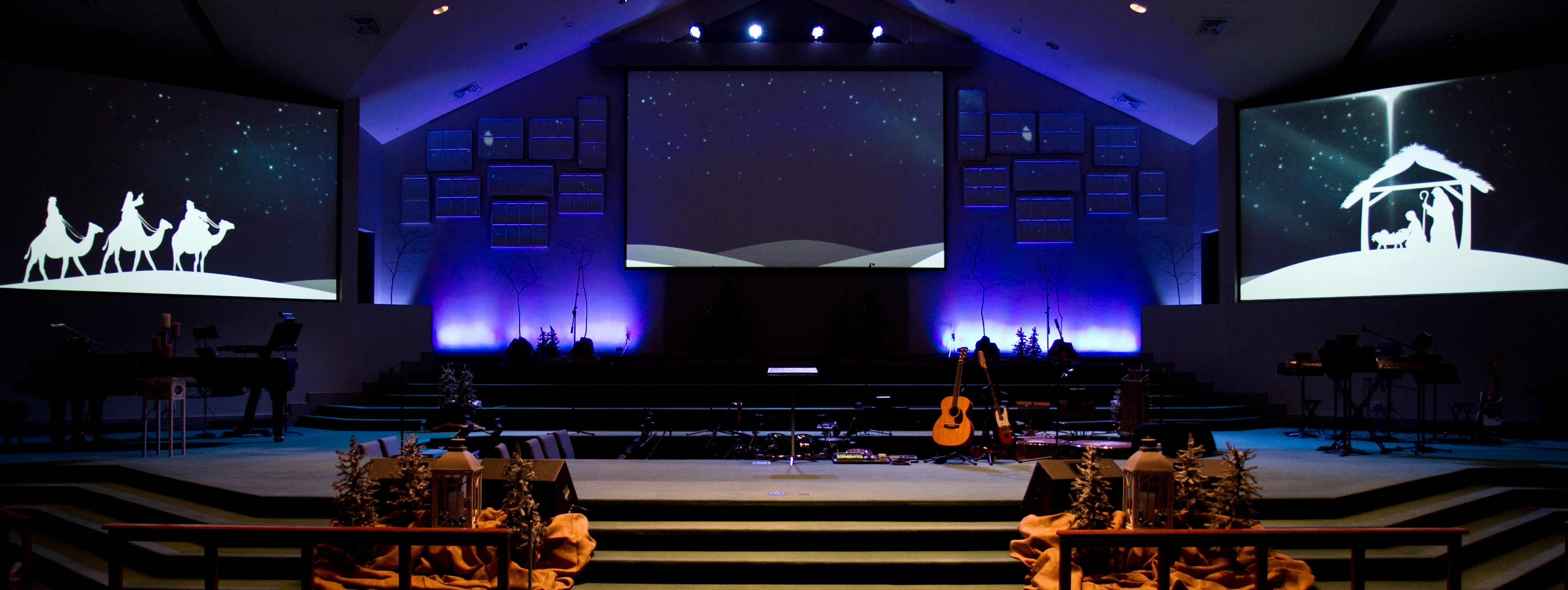 Image of: awesome church stage designs
