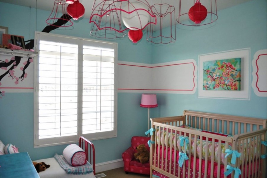 Image of: baby boy room decor diy