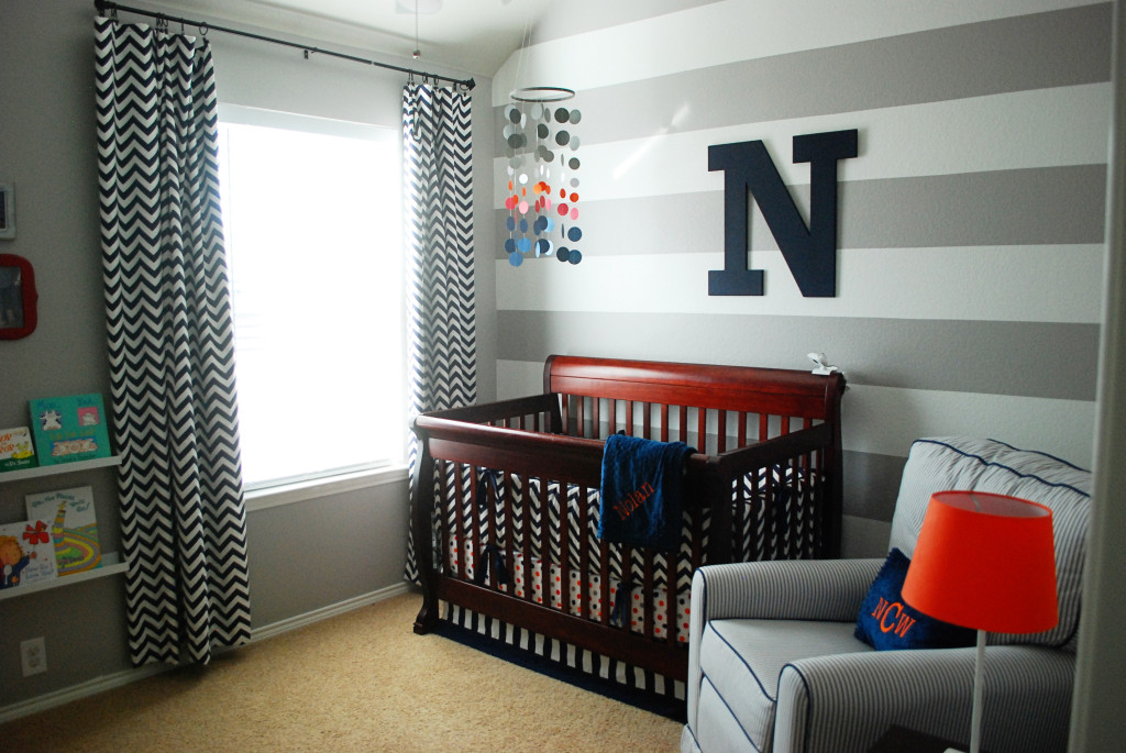 Image of: baby boy room decor grey