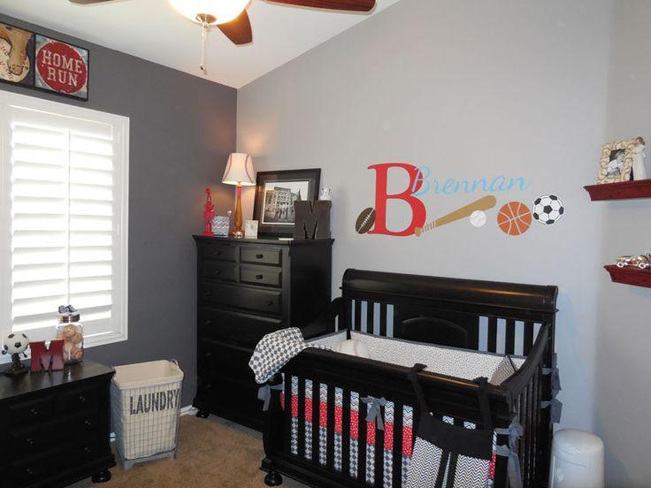 baby boy room decor sports