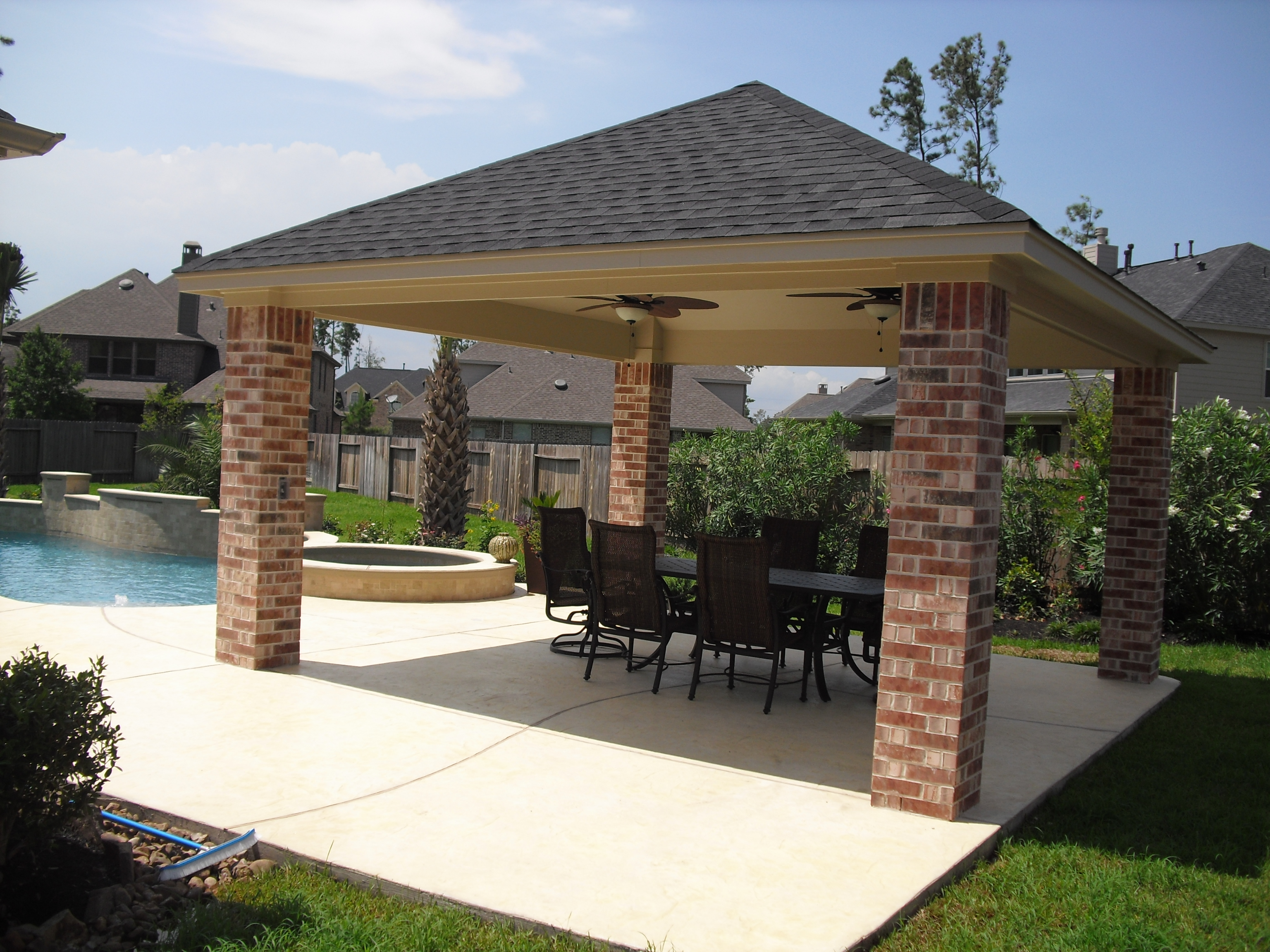 Image of: basic patio cover designs