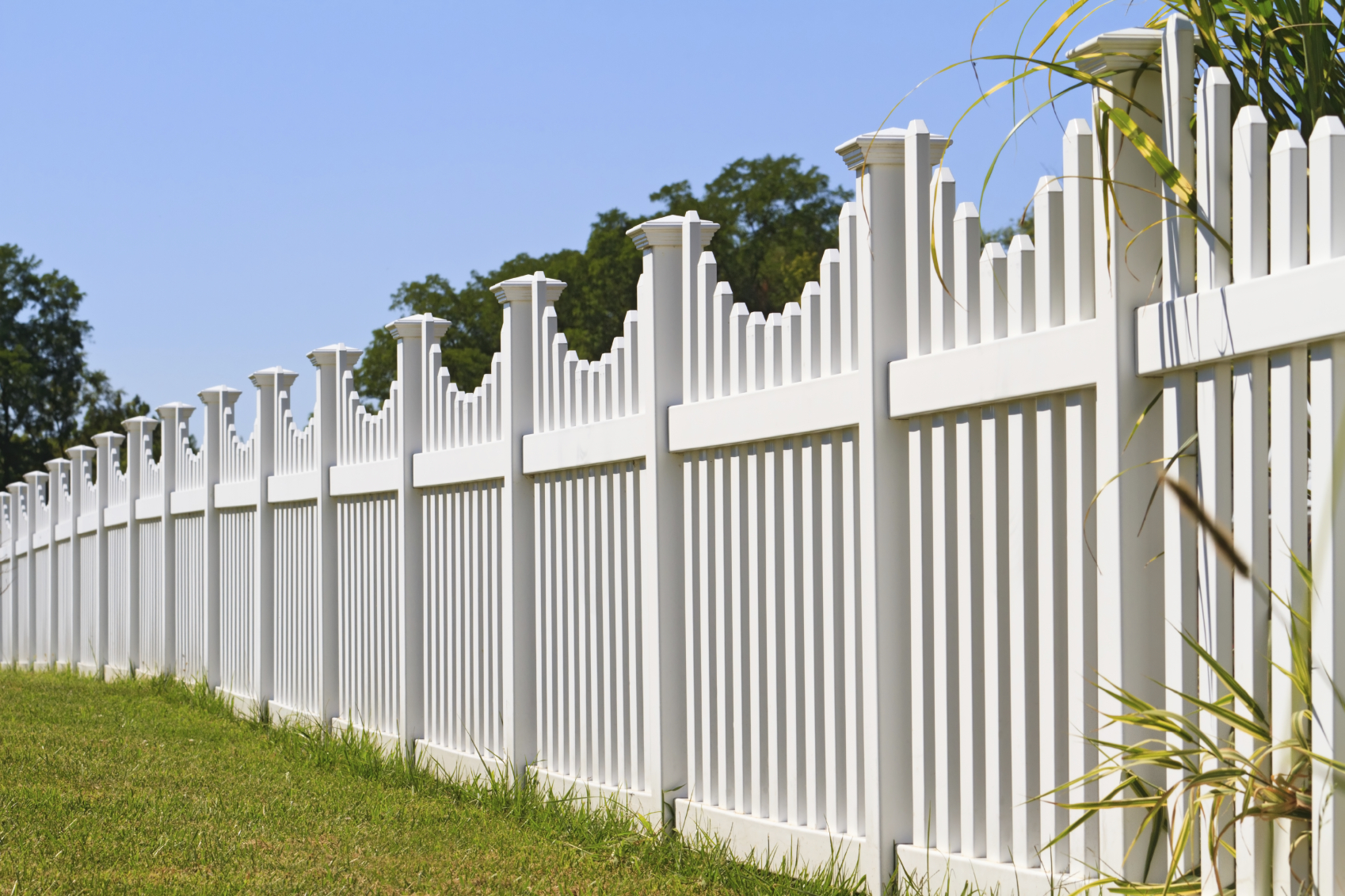 Image of: best picket fence designs