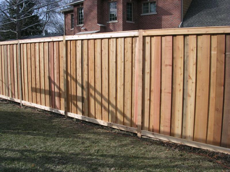 Image of: best privacy fence designs