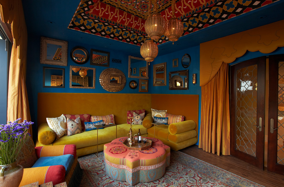 Image of: bohemian room design ideas