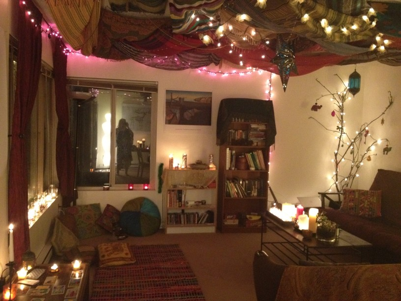 Image of: boho indie room decor