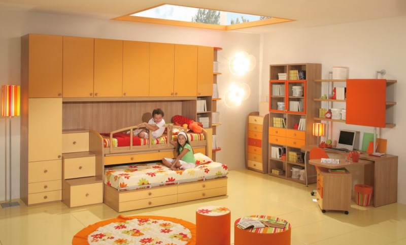 Image of: boy and girl bedroom furniture