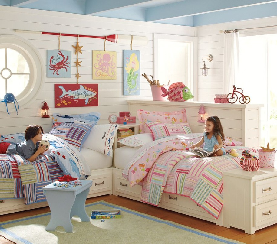 Image of: boy and girl bedroom set