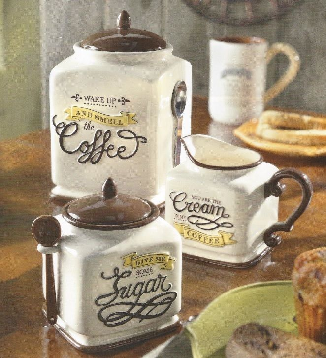 Image of: cafe kitchen decor sets