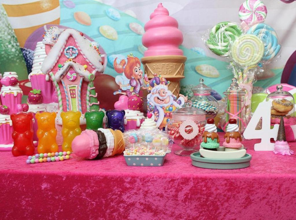 Image of: candyland decoration ideas for party