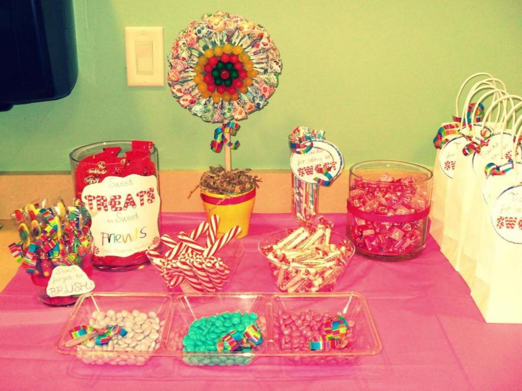 Image of: candyland party decoration