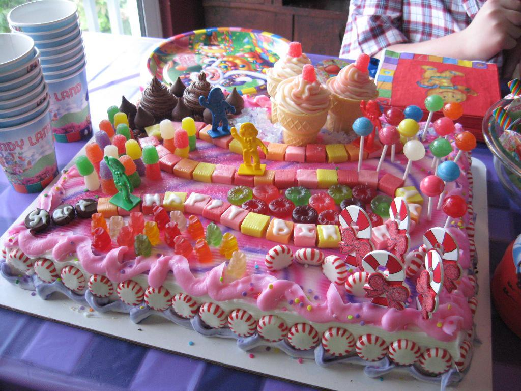 Image of: candyland party ideas for decoration