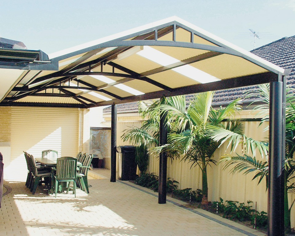Image of: contemporary patio cover designs