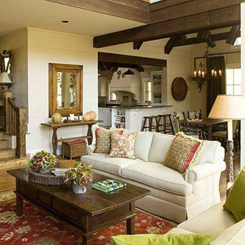 Image of: cottage style home decor