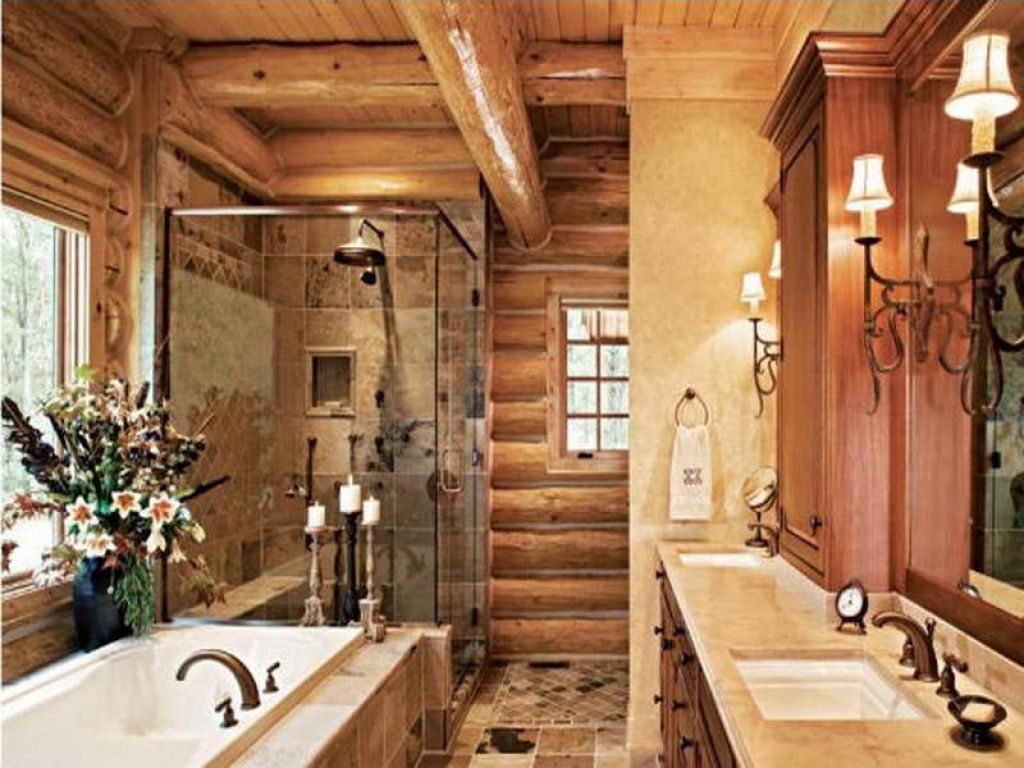 Image of: country and western bathroom decor