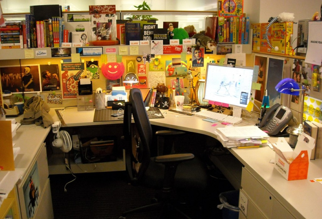 Image of: cubicle decoration ideas