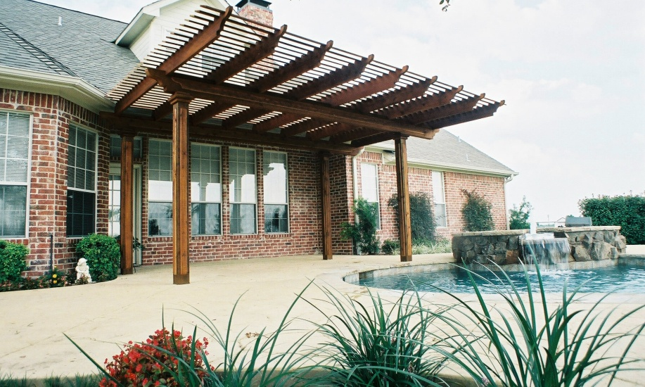 Image of: custom patio cover designs