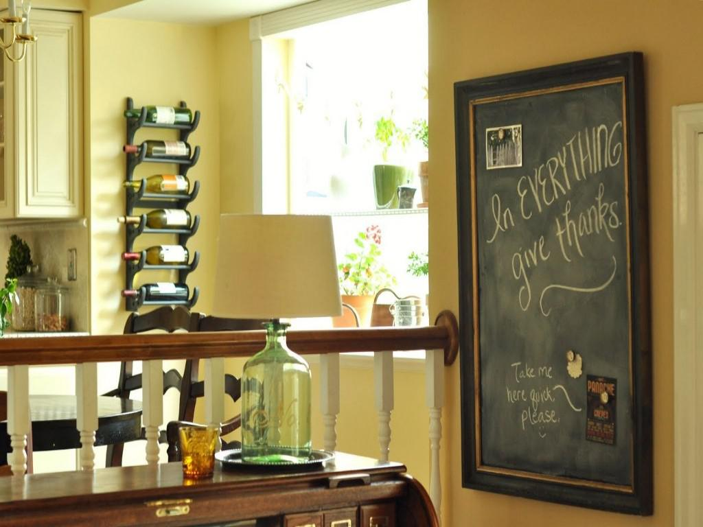 Image of: decorative chalkboard