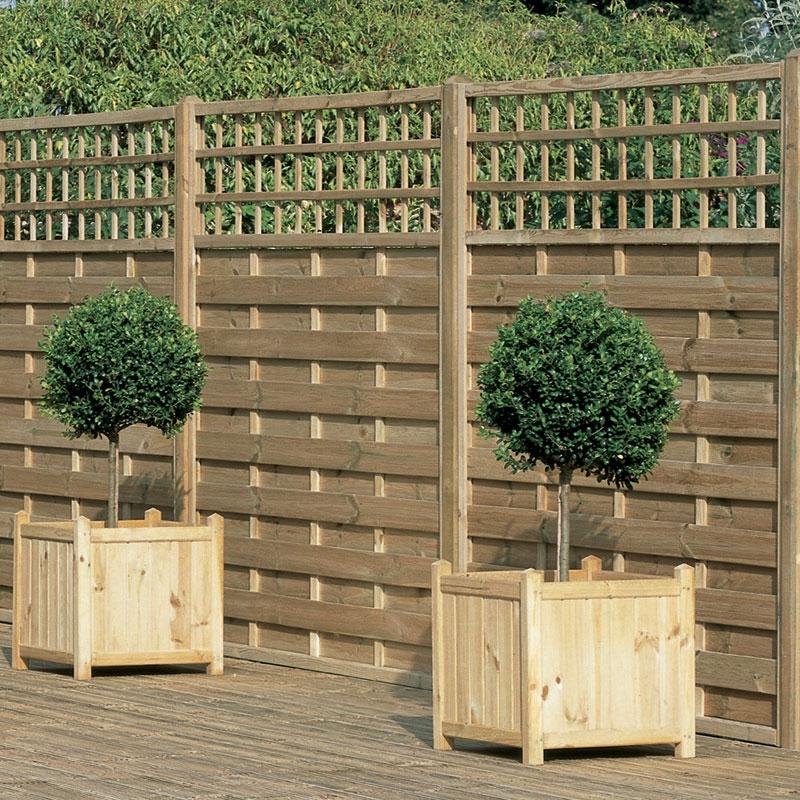 decorative fence panels