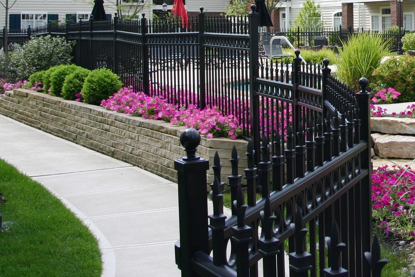 decorative fence uk