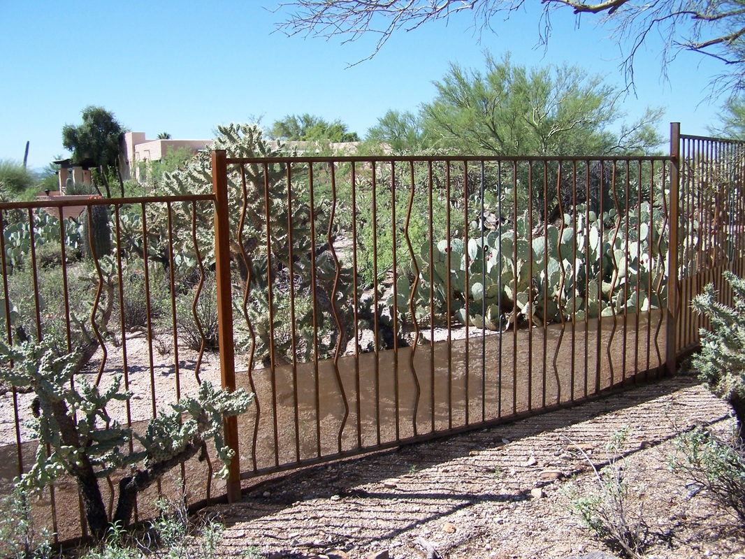 Image of: decorative fences