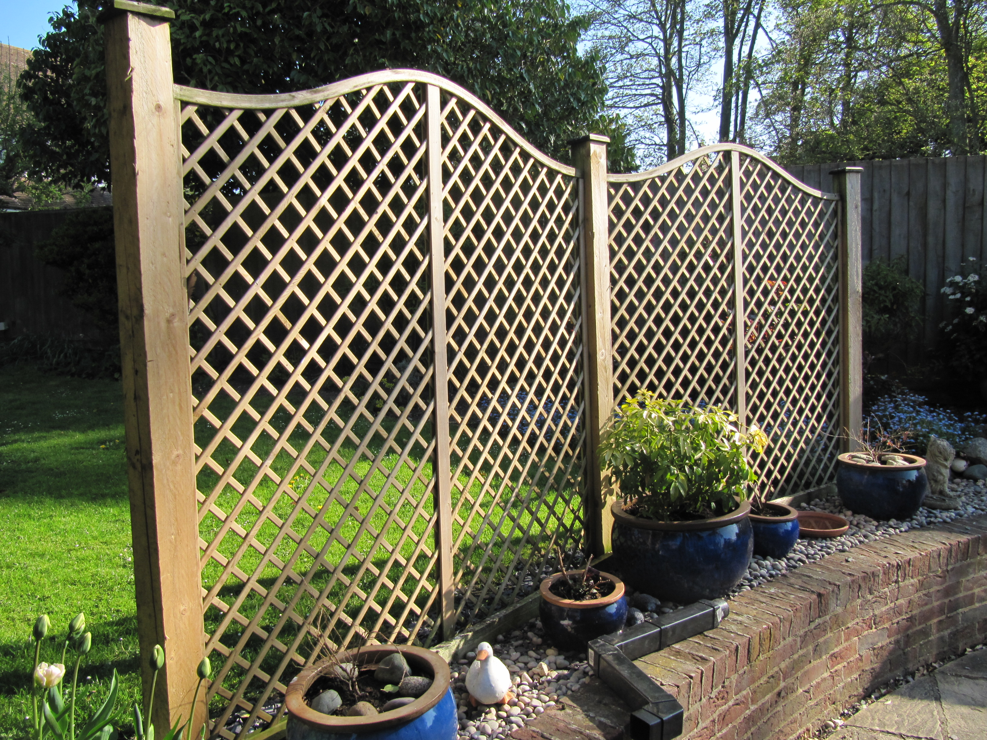Decorative Fencing Icmt Set Decorative Fencing For Front Yard
