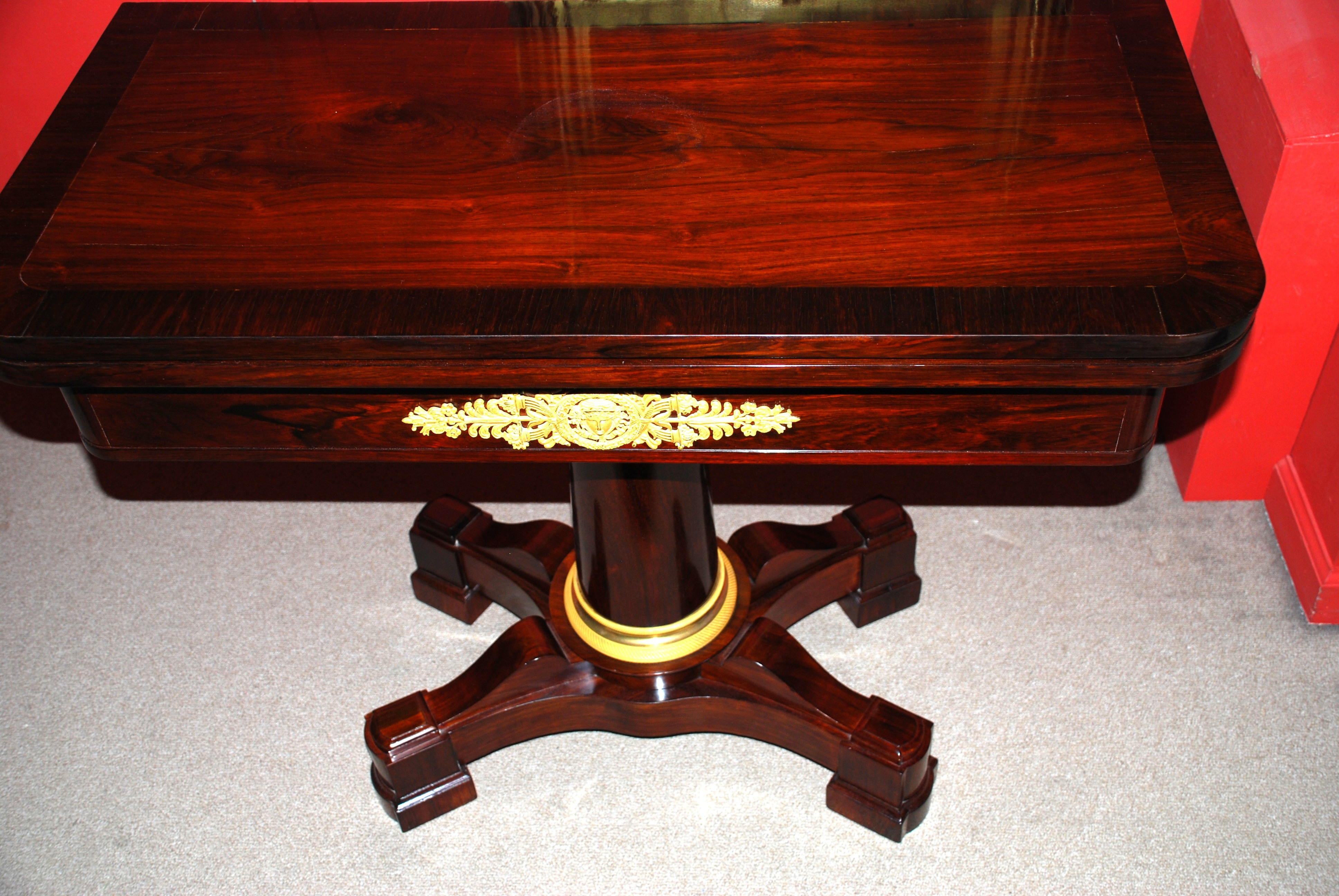 duncan phyfe card table