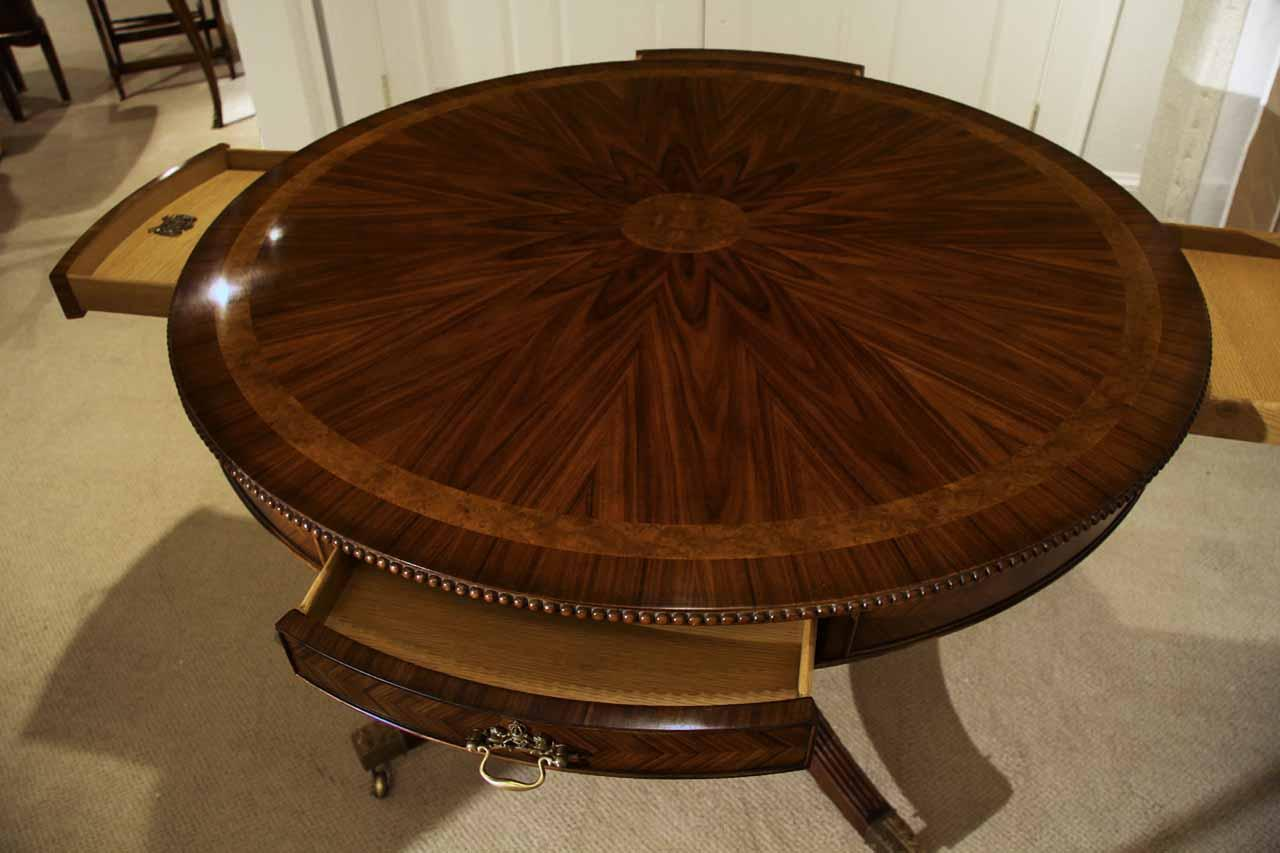 Image of: duncan phyfe round entry table